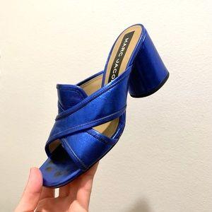 Marc Jacob's 🔵 Electric Blue 🔵 Heeled Mule